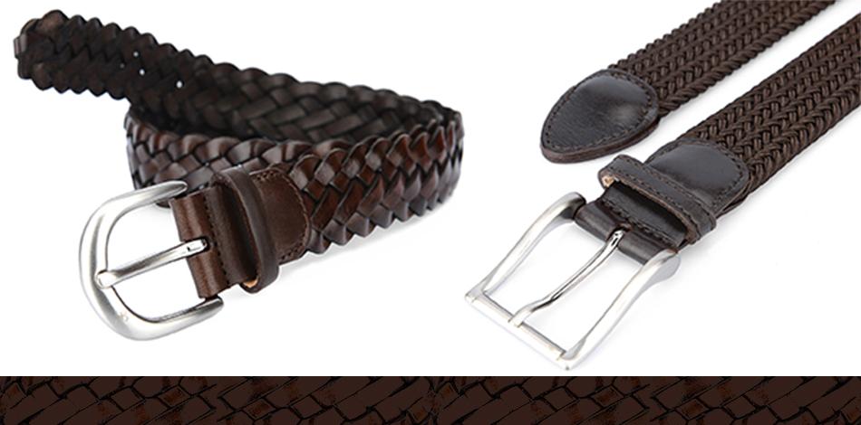 Cintura intrecciata uomo » fabishoes cceb159ba33c