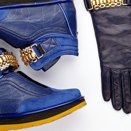 Trendy colors for fall/winter 2014: electric blue, cool seduction