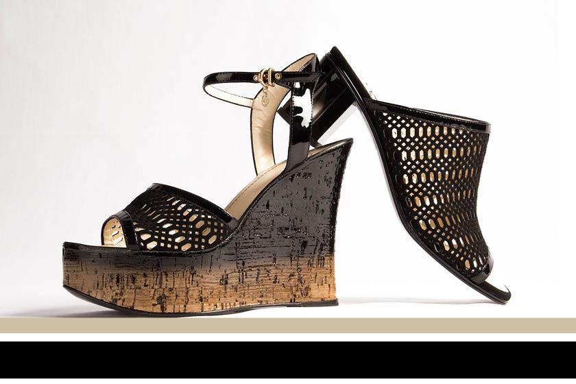 Мода весна лето 2015 кожаная обувь