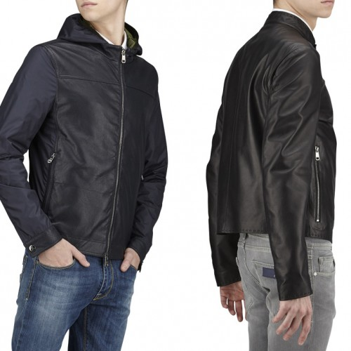 Men's light leather jackets S/S 2015: a summer in style