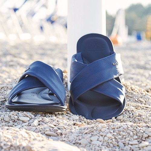 Men's leather sandals S/S 2015 by Fabi