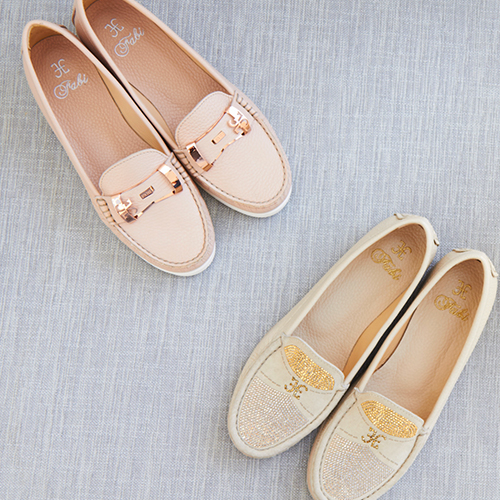 Women's leather moccasins S/S 2015: low heel, high style level