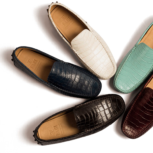 Preppy style moccasins for men: S/S 2015 selection