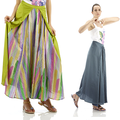 Skirts spring summer 2015: the romantic and the ethno-chic