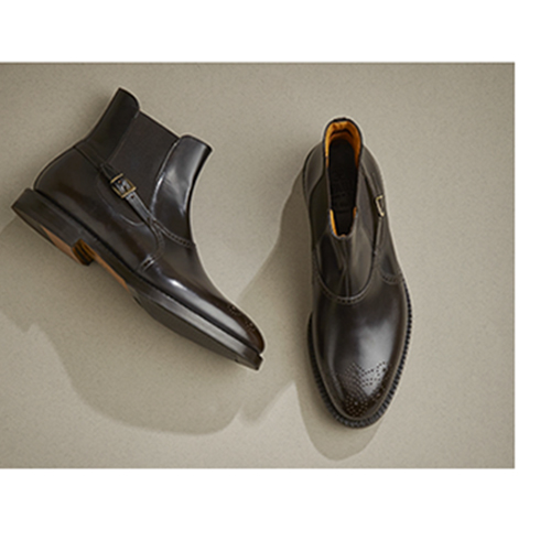 Men's ankle boot winter 2016: the stylish high top shoe