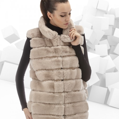 Real fur vest 2016: style and quality