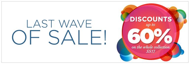 Last wave of sale!