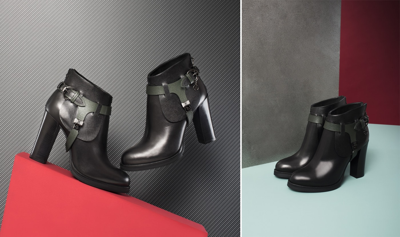 TACK-ROOM INSPIRED ANKLE BOOTS