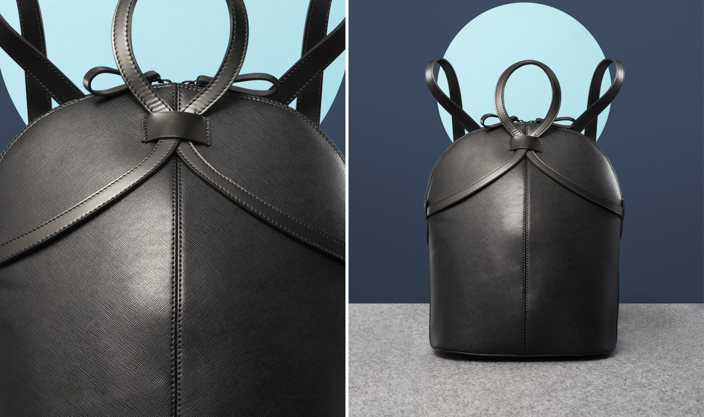 SAFFIANO LEATHER RUCKSACK