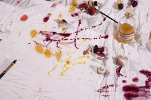 Schizzi di colore naturale - ph Noris Cocci ©