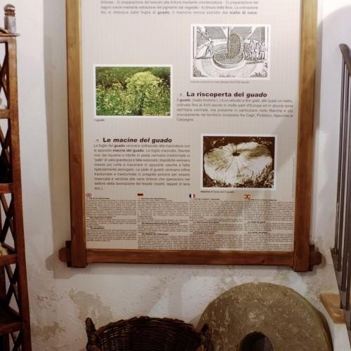 Macine e guado, itinerario tra i colori naturali del Montefeltro