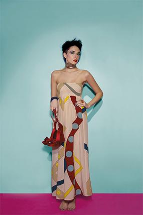 Элегантное и стильное: длинное вечернее платье от Фаби