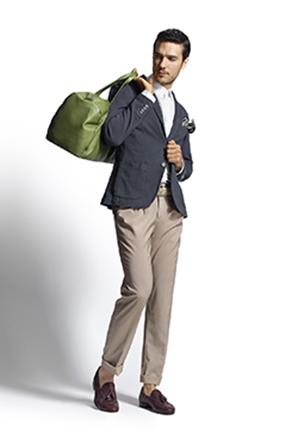 Мужская одежда в стиле casual chic Фаби, небрежная элегантность