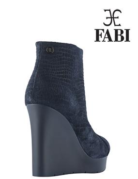 Ботильоны на танкетке: женская коллекция от Fabi Shoes