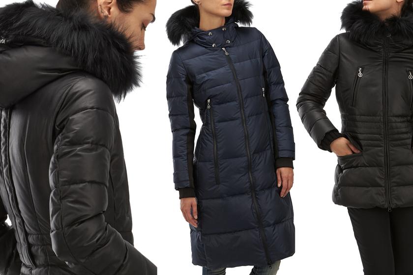 wholesale dealer d9be7 4b2eb Piumini con pelliccia vera a/i 2014-2015